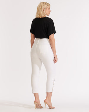 Kate High-Rise Skinny Jean - White