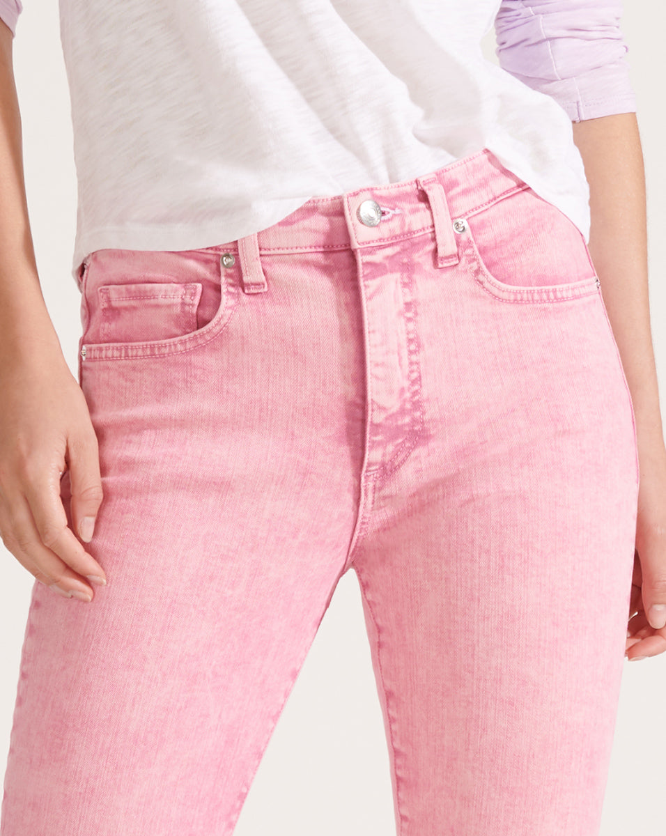 Kate High-Rise Skinny Jean - Pink