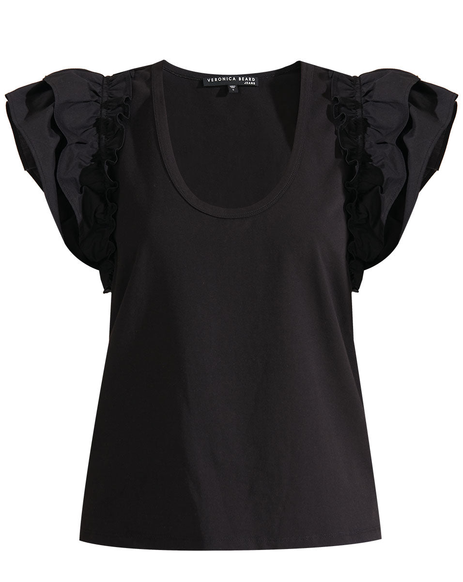 Mirage Combo Top - Black