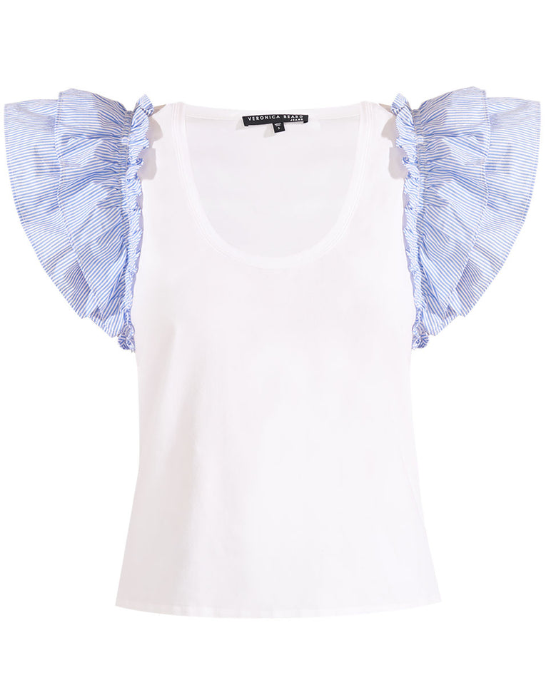 Mirage Combo Top - White