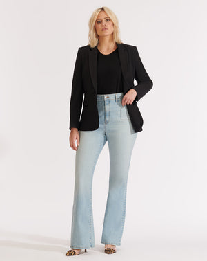 Florence High-Rise Skinny Flare Jean - Aire