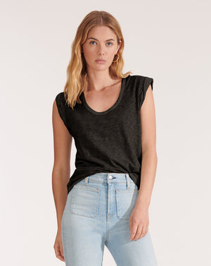 Arion Muscle Tee - Charcoal