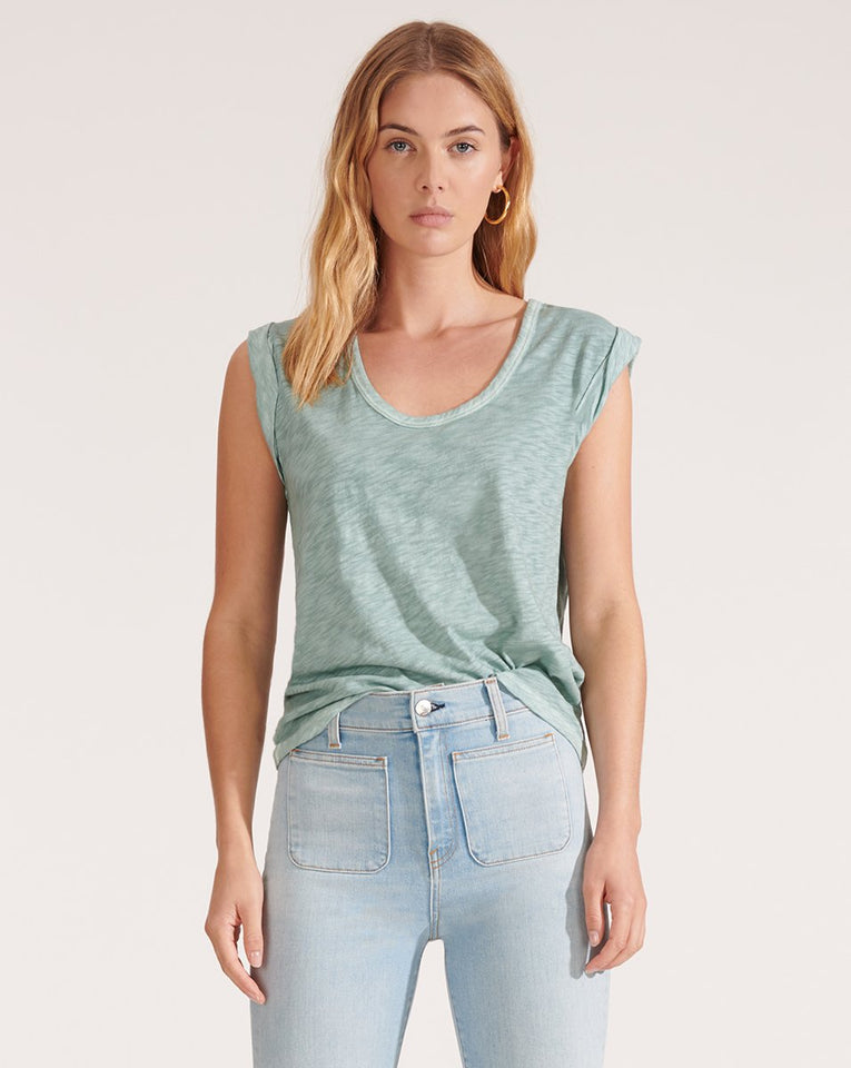 Arion Muscle Tee - Seaglass