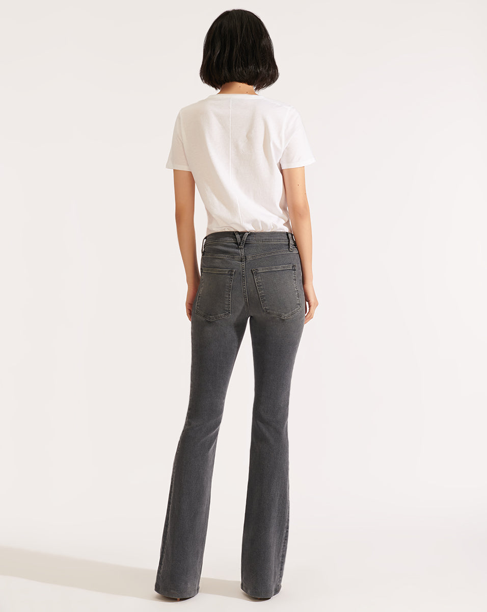Beverly High Rise Skinny Flar - Stonington