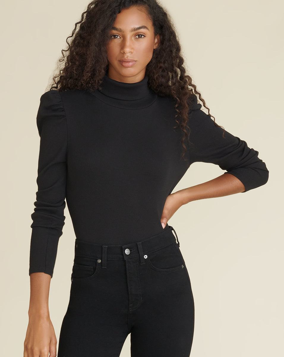 Cedar Turtleneck - Black