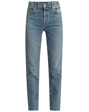 Ryleigh High-Rise Straight Jean - Nile