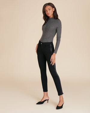 Theresa Turtleneck - Charcoal