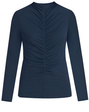 Theresa Turtleneck - Navy