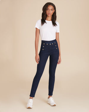 Jane Skinny Sailor Jean - Indigo