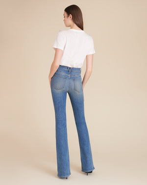 Florence High-Rise Skinny Flare Jean - Waterfall