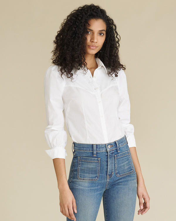Verani Button-Down Shirt - White