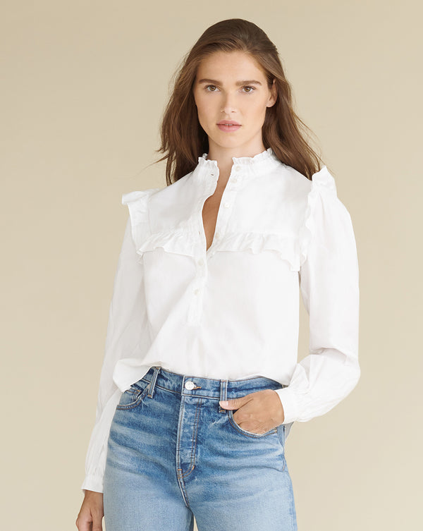Sonnet Shirt - White