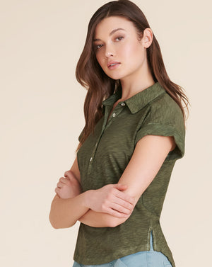 Jo Polo Top - Army