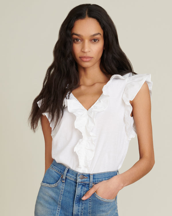 Stacie Top - White