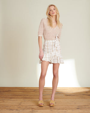 Kaia Plaid Miniskirt - Multi