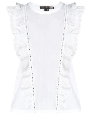 Arion Muscle Tee - White