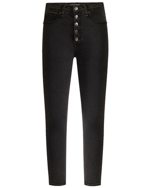 Debbie High Rise Skinny - Charcoal