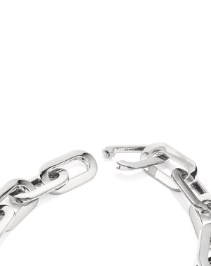 Mega Link Silver Necklace - Silver