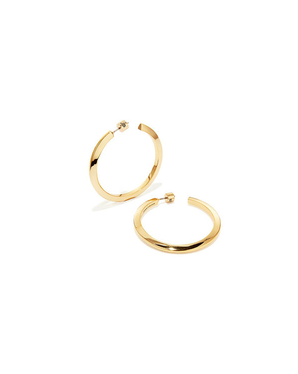 Toni Large Hoops - Gold