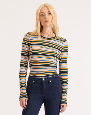 Mayer Striped Top - Multi