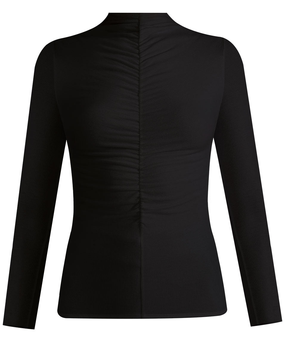 Theresa Turtleneck - Black