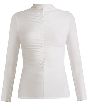Theresa Turtleneck - White