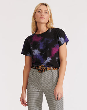 Lara Crew Neck - Purple Multi