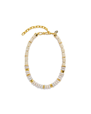 Refresh Pearl Necklace - White