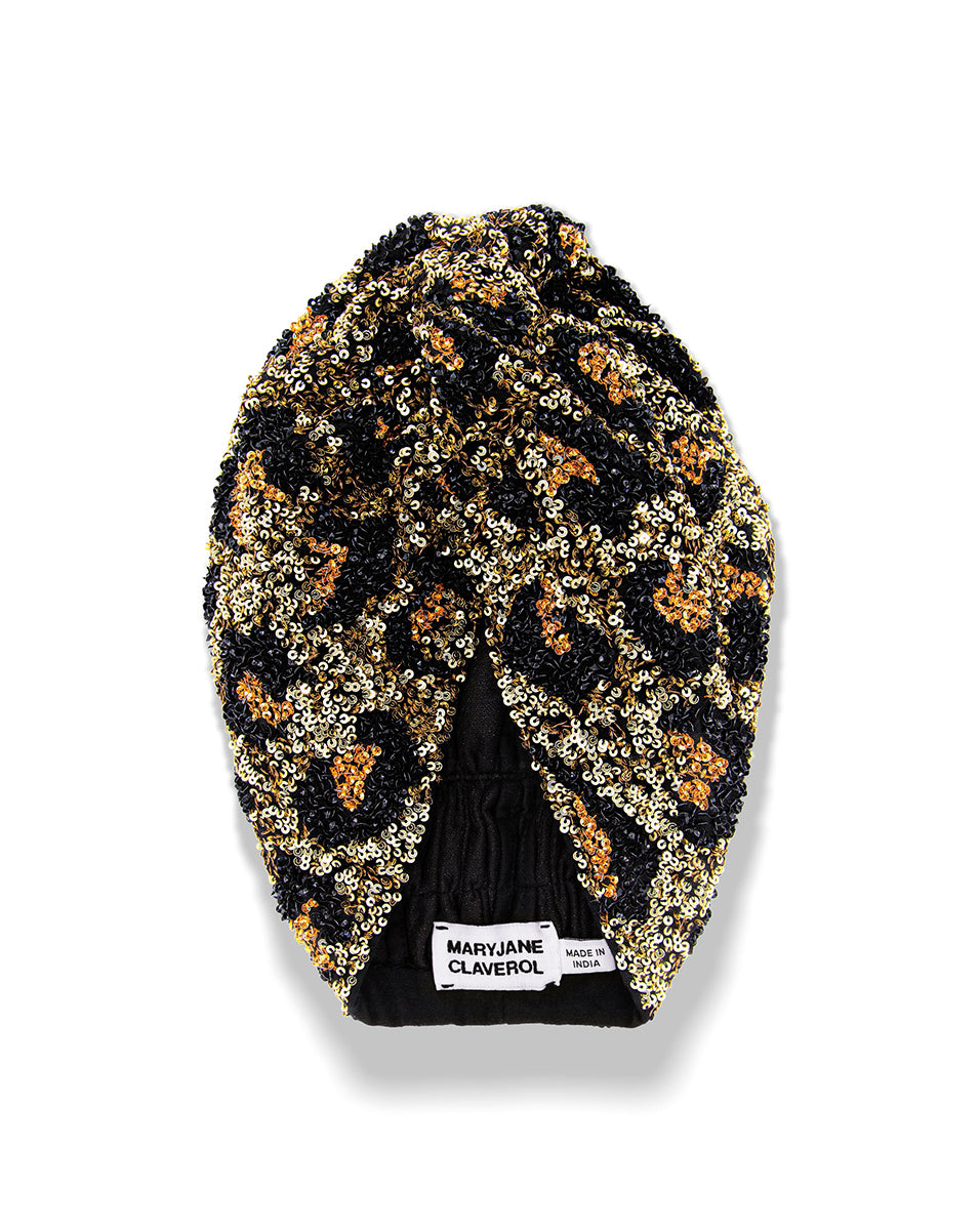 La Tigresa Turban - Gold-Topaz