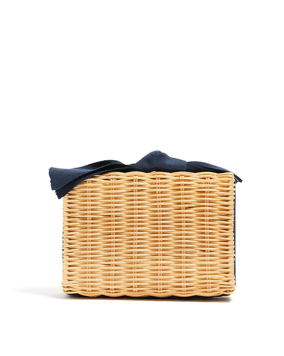 The Charlotte Clutch - Navy