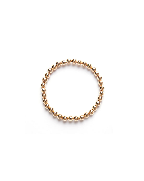 Large Ball Bracelet - Gold