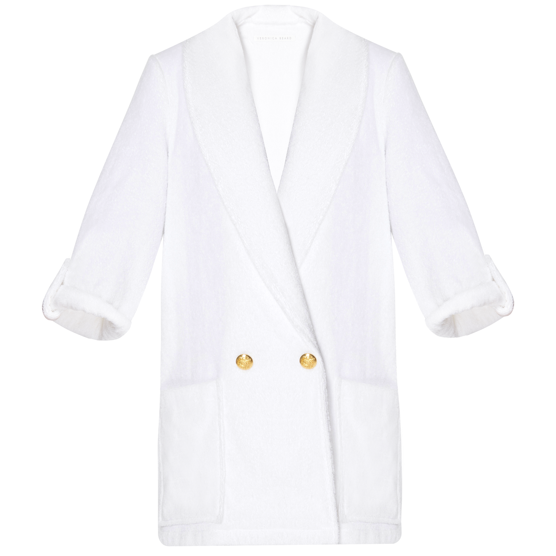 Goldie Cover-Up Jacket - White
