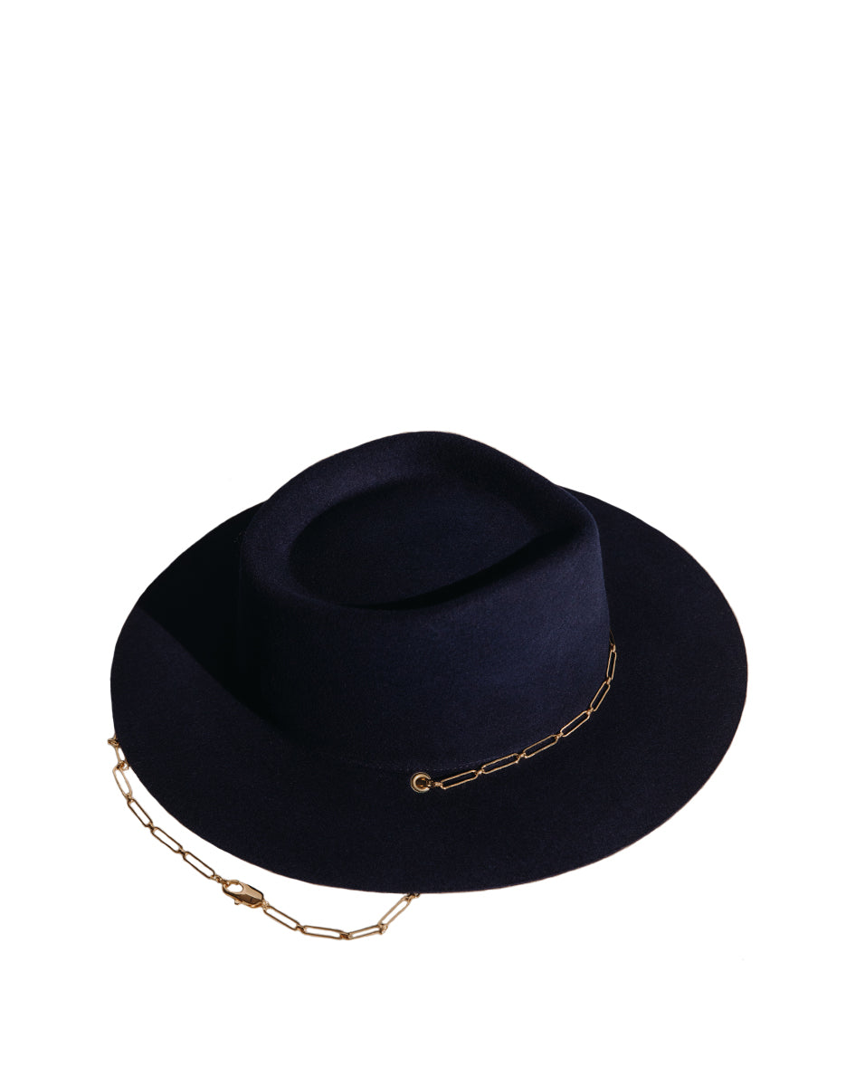 Ulysse Wool Hat - Navy