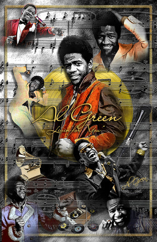 "Al Green ""Livin' For You"" D-5"