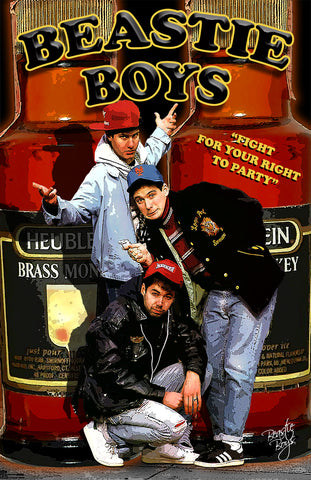 "Beastie Boys ""Fight For Your Right To Party""  D-1"