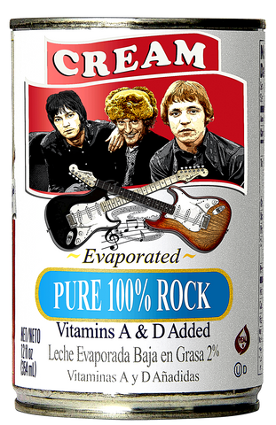 "Cream ""100% Pure Rock"" D-1"