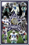 "Dallas Cowboys ""Championship Collage '95"" D-1"