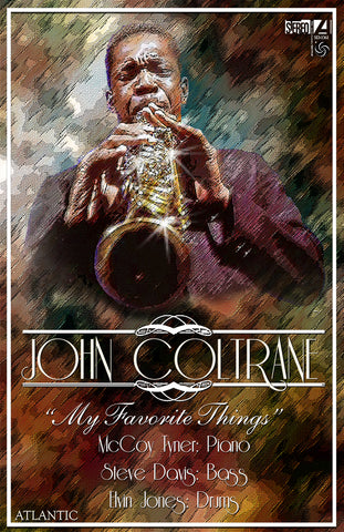 "John Coltrane ""My Favorite Things""  D-10"