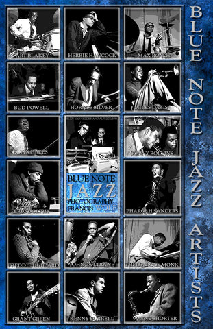 "Bluenote Jazz ""Collage"" D-1"