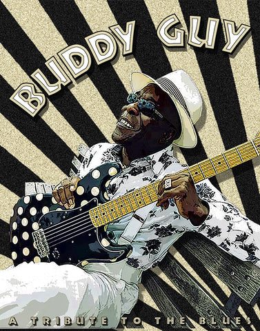 "Buddy Guy ""Tribute To The Blues"" D-1"