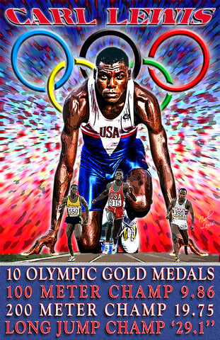 "Carl Lewis ""The Olympian"" D-1"