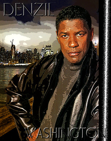 "Denzil Washington ""D-1"" (Print)"