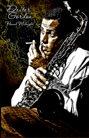 "Dexter Gordon ""Round Midnight""  D-1"