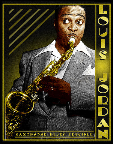 "Louis Jordan ""Saxophone Blues Disciple""  D-1"
