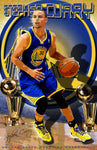 "Stephen Curry ""Champion""  D-1 (Print)"