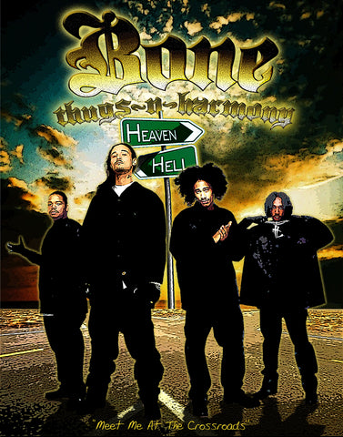 "Bone Thugs-N-Harmony ""See You At The Crossroad"" D-2"