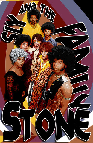 Sly & The Family Stone D-2