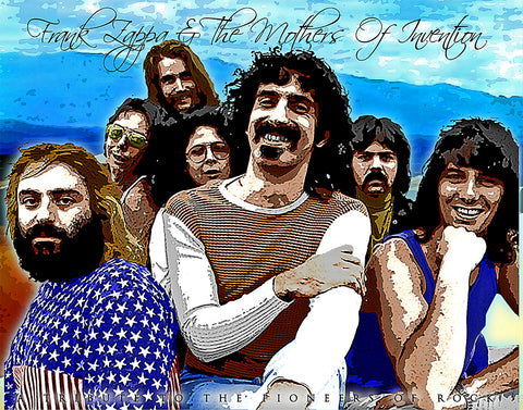 "Frank Zappa & Mothers Of Invention ""Tribute"" D-1"