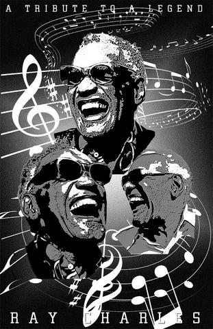 "Ray Charles ""Tribute"" D-3b"