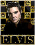"Elvis Presley ""The King "" D-3 (Print)"